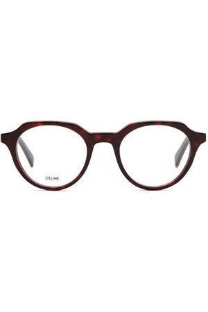 Céline Round Acetate Glasses - Mens - Tortoiseshell