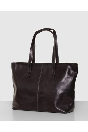 Florence The Beatrice Leather Tote Work Bag - Handbags The Beatrice Leather Tote Work Bag