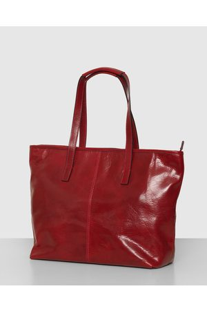 Florence Women Laptop Bags - The Beatrice Leather Tote Laptop Bag - Handbags The Beatrice Leather Tote Laptop Bag