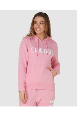 Elwood Huff N Puff Hood - Hoodies (Bubblegum) Huff N Puff Hood