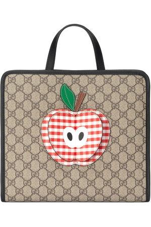 Gucci GG Canvas Supreme appliqued shoulder bag