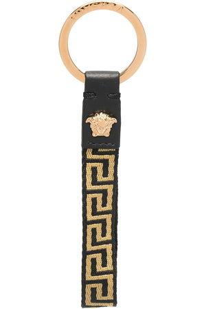 VERSACE Men Keychains - Greca logo keyring