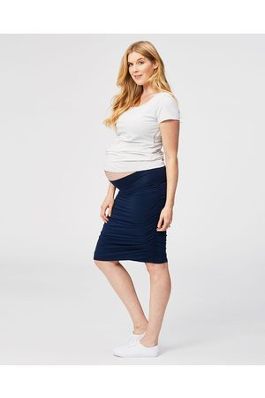 Cake Maternity Women Pencil Skirts - Tiramisu Maternity Skirt - Pencil skirts (Navy) Tiramisu Maternity Skirt