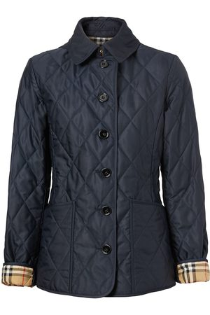 Burberry Diamond-quilted jacket