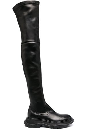 Alexander McQueen Long leather boots