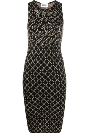 Wolford Aurora monogram mini dress