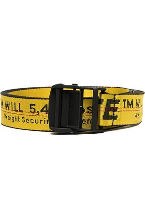 OFF-WHITE CLASSIC INDUSTRIAL BELT BLACK