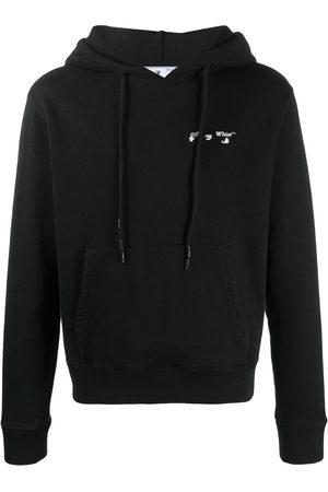 OFF-WHITE Logo-print cotton hoodie