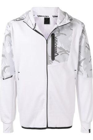 AAPE BY A BATHING APE Camouflage-print zip-up hoodie