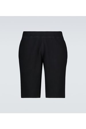 Sunspel Cotton loopback shorts