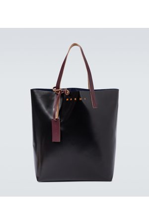 Marni PVC tote bag with logo
