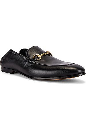 Gucci Horsebit Leather Loafer in Nero