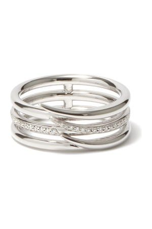 SHAUN LEANE Armis Diamond & 18kt - Ring - Mens