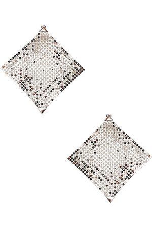 Paco rabanne Pixel Earrings in