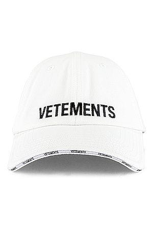 Vetements Men Caps - Logo Cap in