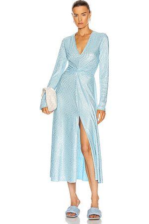 ROTATE Women Evening Dresses - Sierra Dress in Bachelor Button Combo