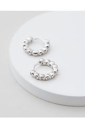Jackie Mack Eternal Mini Hoops - Jewellery (18K ) Eternal Mini Hoops