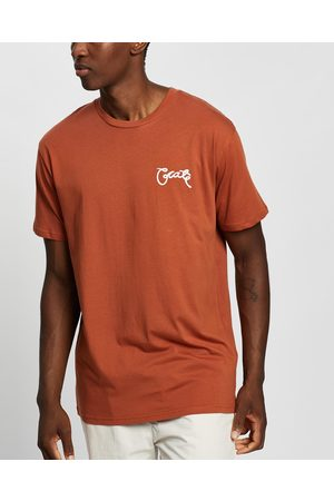 Crate Scripted T Shirt - T-Shirts & Singlets (Copper) Scripted T-Shirt