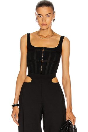 DION LEE Jersey Halter Corset in