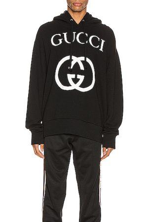 Gucci Hooded Sweatshirt With Interlocking G in & Ivory