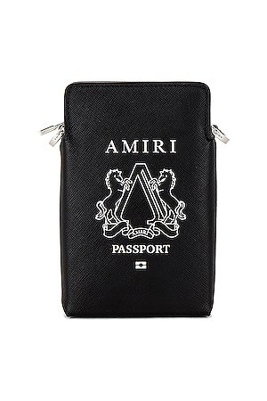 AMIRI Passport Holder Bag in &