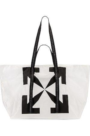OFF-WHITE Arrow PVC Tote Bag in &