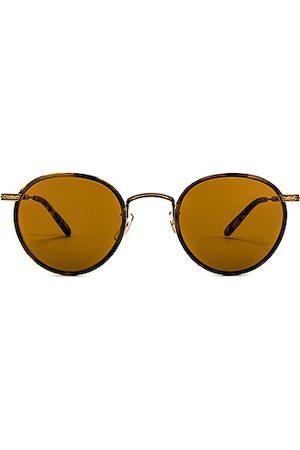 GARRETT LEIGHT Men Sunglasses - Wilson 46 in Tortoise-Antique II- Tortoise & Semi-Flat Pure