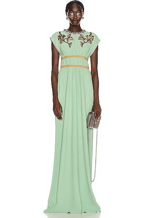 Gucci Women Evening Dresses - Evening Gown in Mint Cream