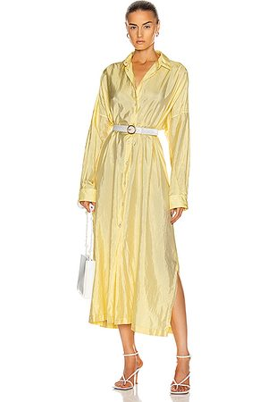 Jil Sander Packaway Shirt Dress in Light Pastel