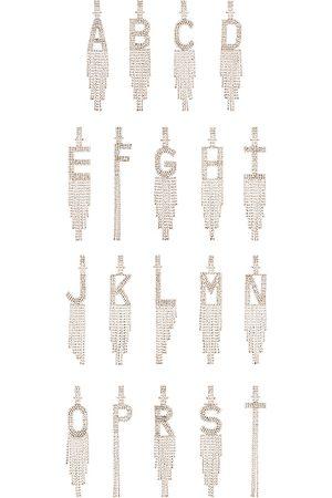 Retrofete Alphabet Earring in