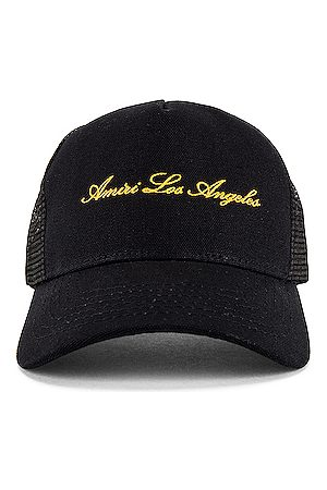 AMIRI Los Angeles Trucker Hat in