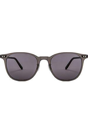 GARRETT LEIGHT Men Sunglasses - Beach 49 in Matte Crystal & Brushed &
