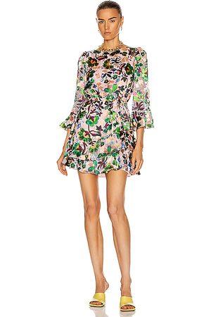 SALONI Marissa Mini-C Dress in Geranium
