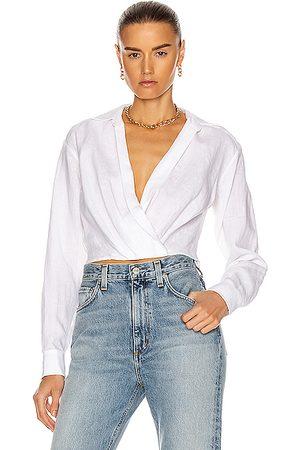 Marissa Webb Maxwell Linen Shirt in Linen