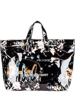 Comme des Garçons Futura Print Tote Bag in Print A