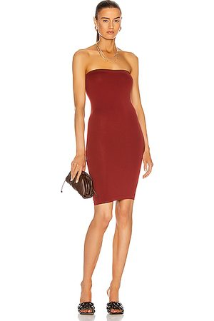 Wolford Women Strapless Dresses - Fatal Mini Dress in Currant Berry