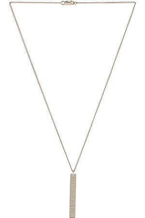 Maison Margiela Men Necklaces - Necklace in Palladio Polished