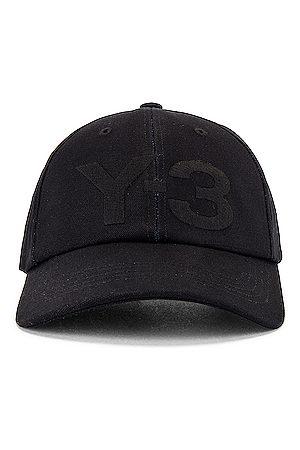 Y-3 Men Caps - Logo Cap in