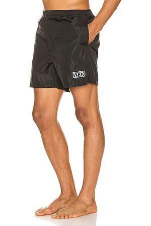 VALENTINO Men Board Shorts - Swim Trunks in