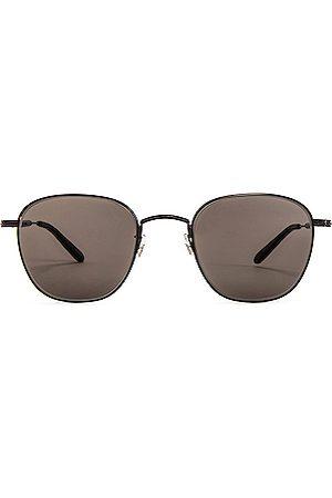 GARRETT LEIGHT Men Sunglasses - World 49 in & & Semi-Flat G15