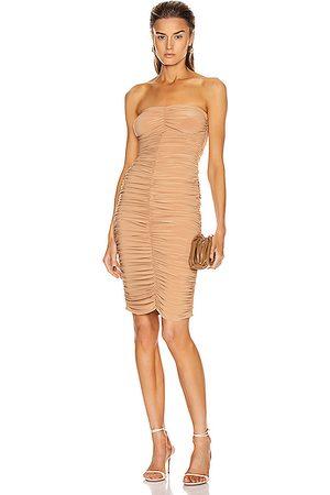 Norma Kamali Slinky Dress in Nude