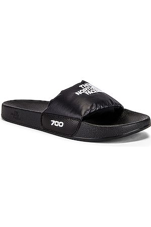 The North Face Men Sandals - Nuptse Slide in TNF & TNF