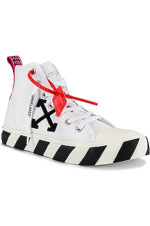 OFF-WHITE Mid Top Sneaker in &