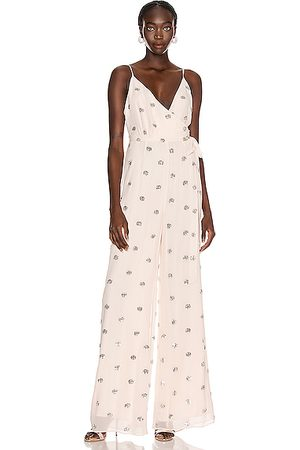 ALEXIS Women Jumpsuits - Cosmina Jumpsuit in Embellished Blush