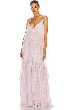 Jacquemus Women Printed Dresses - La Robe Mistral in Print Checked