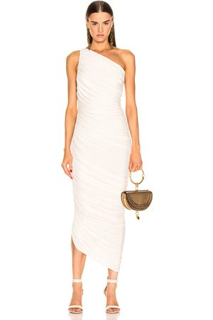 Norma Kamali Diana Gown in Ivory