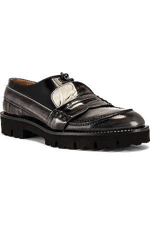 Maison Margiela Men Casual Shoes - Fusion Mocassino in Shist &