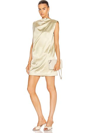 GAUGE81 Cali Mini Dress in Sand