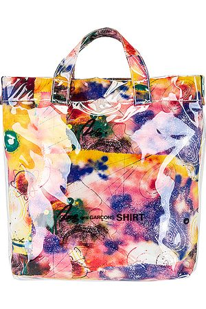 Comme des Garçons Futura Print Tote Bag in Print C