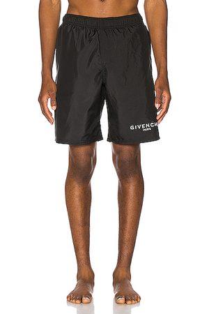 Givenchy Men Board Shorts - Flat Classic Swim Bermuda Short in